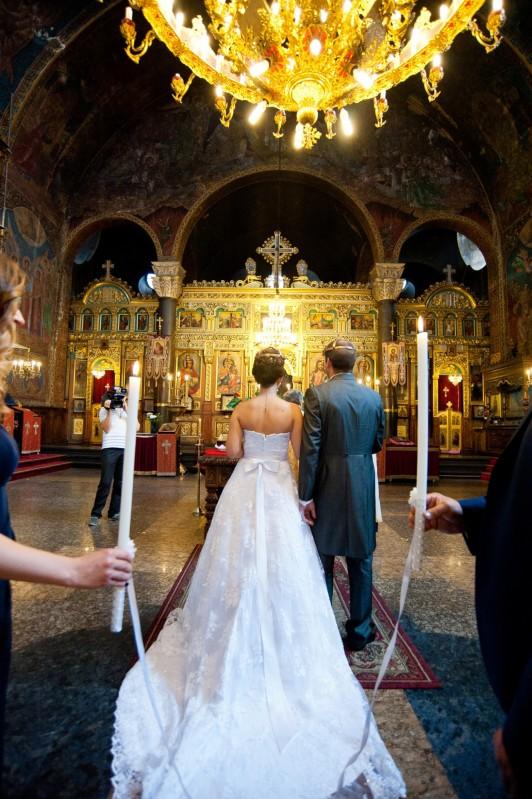Църковен брак, сватбена фотография