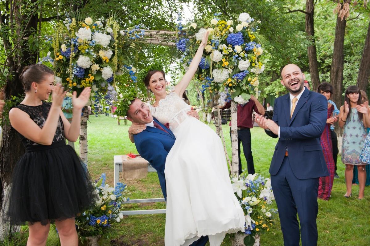 Пролетна сватба, сватбен фотограф