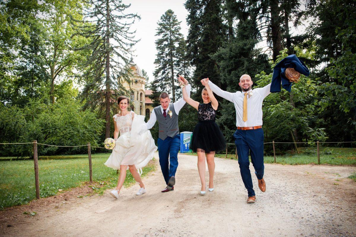 Кумове и сватба