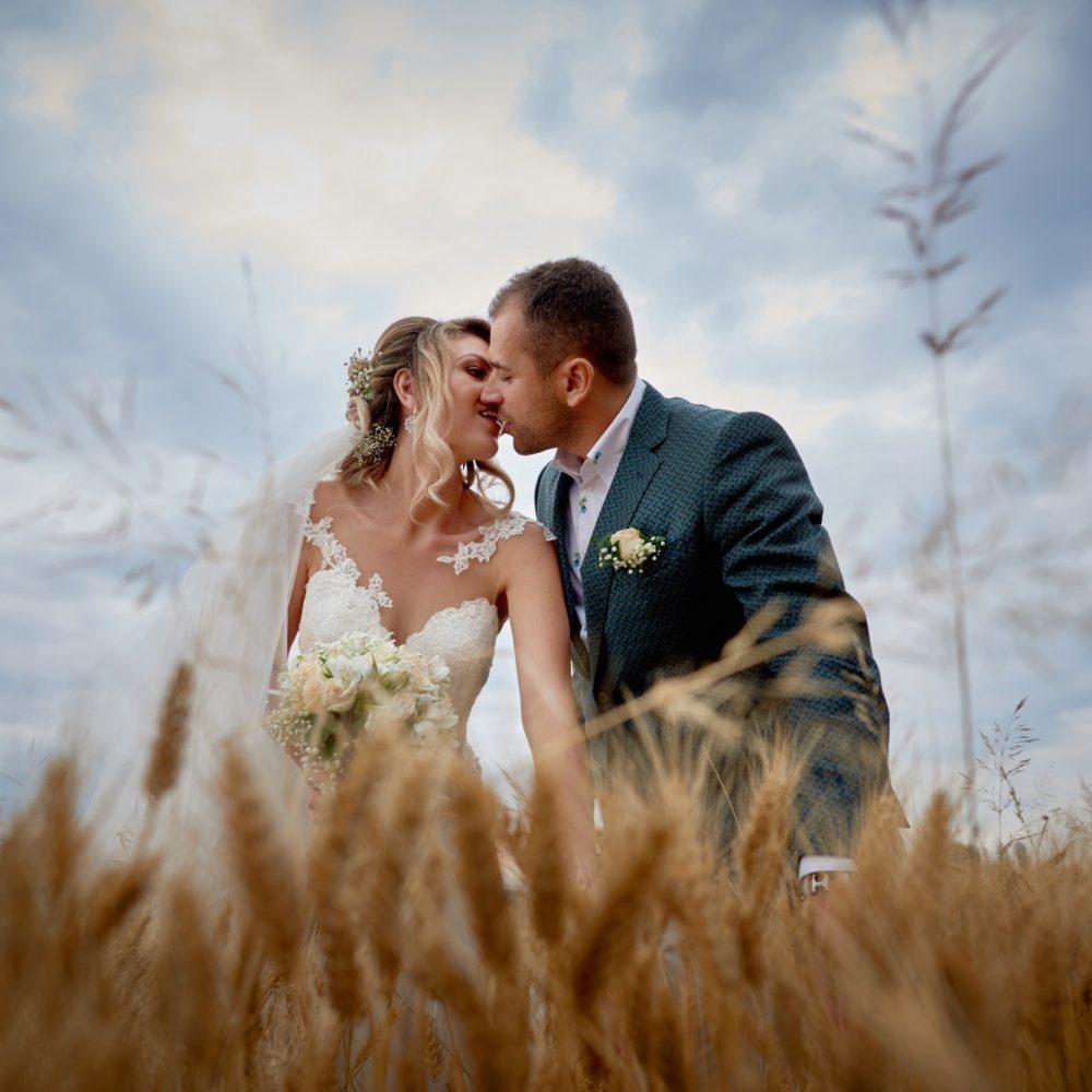 Любомира и Веселин, сватбена фотография