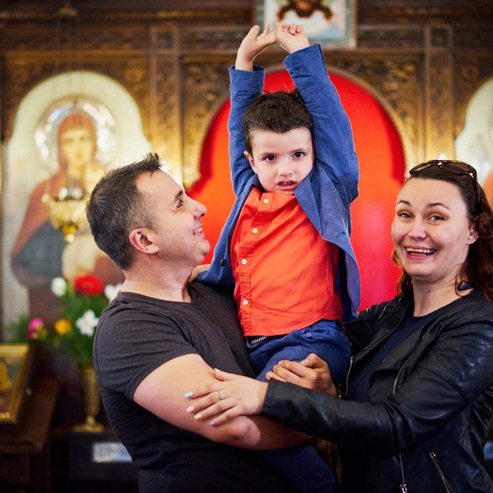 Кръщене от Драгалевския манастир