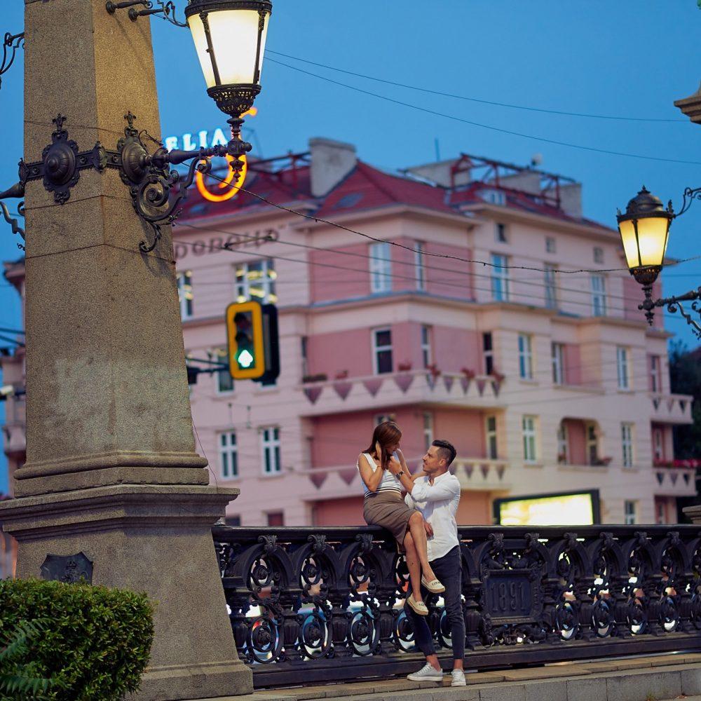 Валентина и Георги - годежна фотосесия