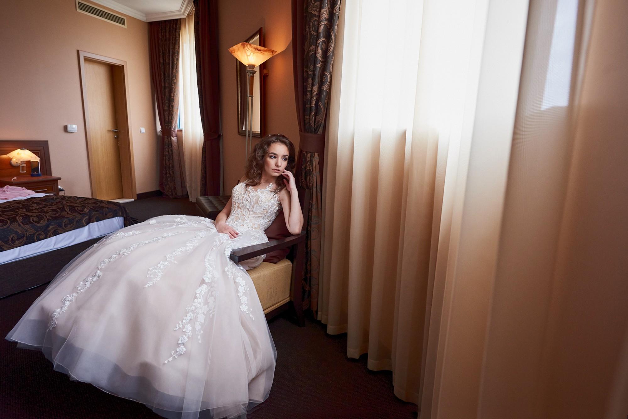 Вълнението в сватбения ден