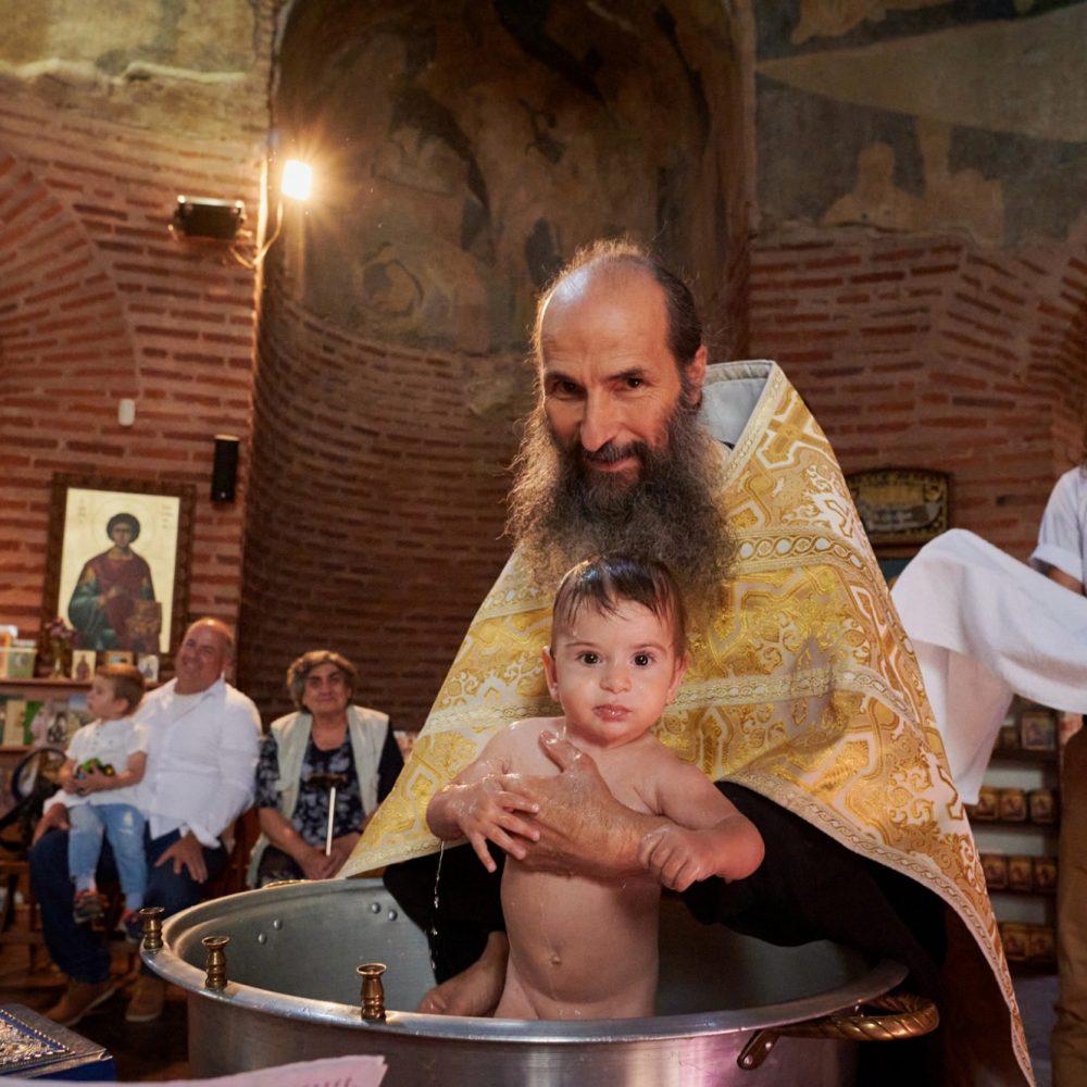 Кръщенето на Дамян в Ротондата